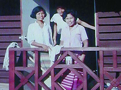 Some of the Thai Hootch women that did all the maid work.