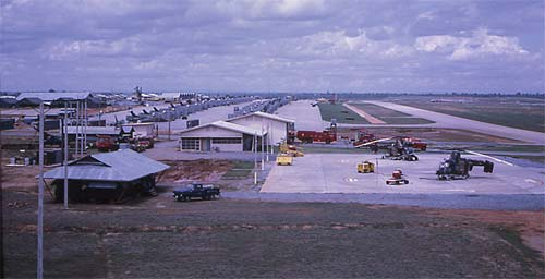 A look at Korat from the control tower, mid-1967.