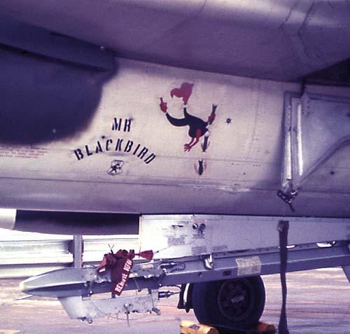 Mr. Blackbird, Don Austin's aircraft.