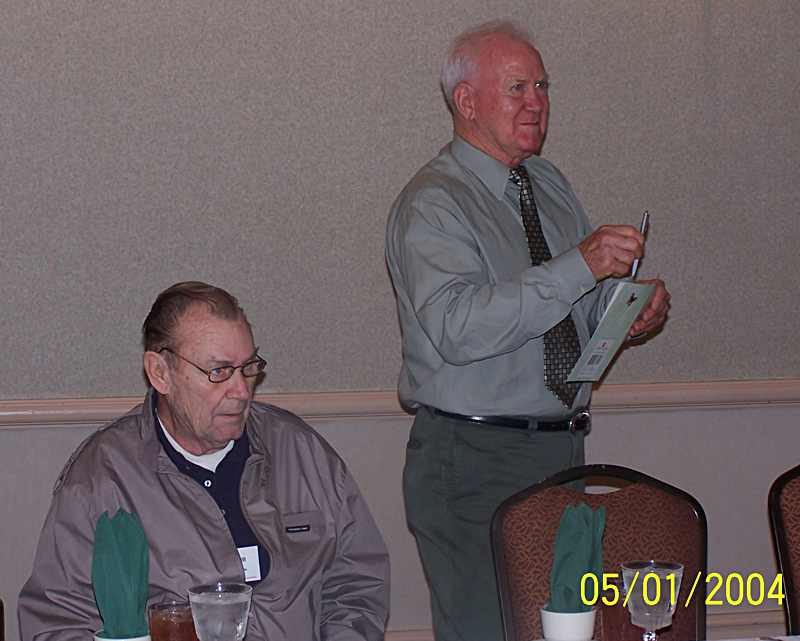 Bill Eagle, Don Hodge standing.