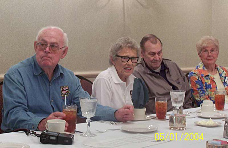 Homer Terry, Jeanne Eagle, Bill Eagle and Norma Ross.