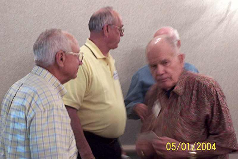 Key Mays, Larry Bogeman, and Jim Ross.