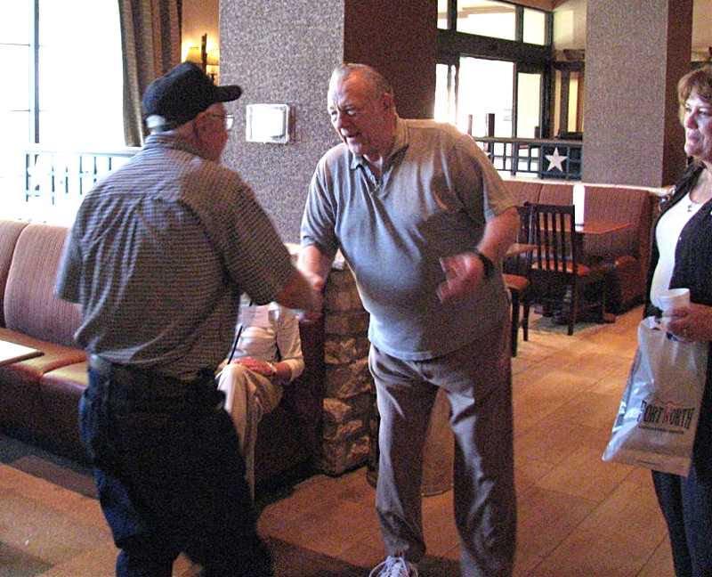 Ken welcomes Larry Hoppe.