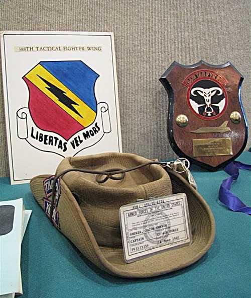 Jake Shuler's memorabilia.