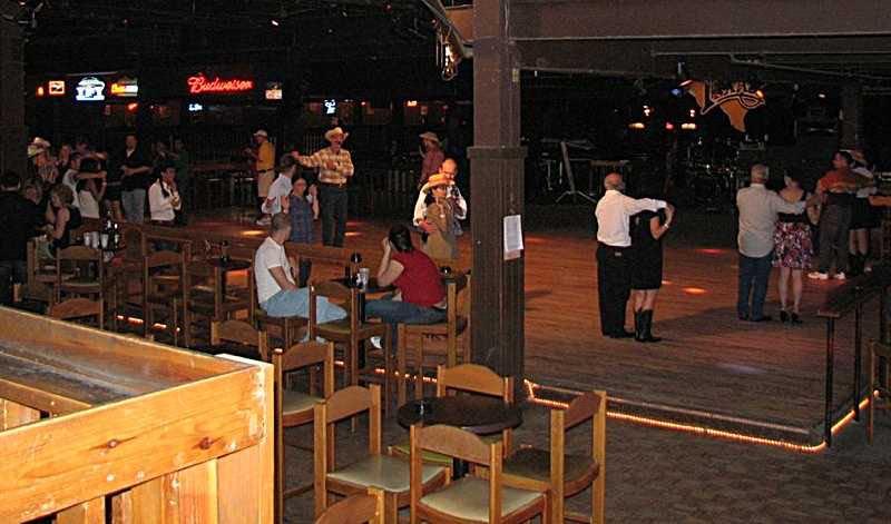 Line dancing at Billy Bob's.