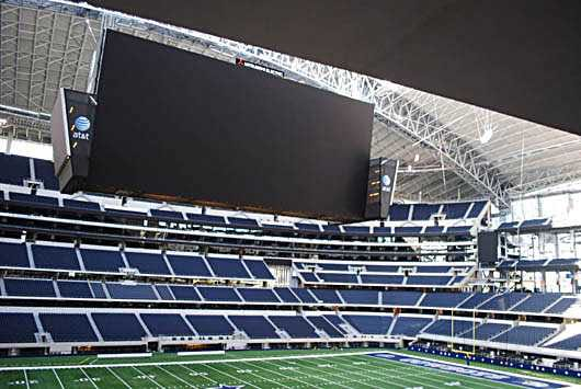 A really big TV.