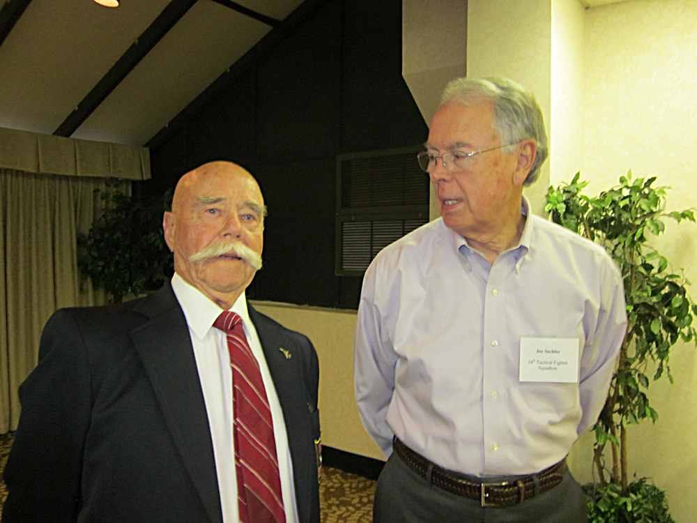Augie Augsburger and Joe Sechler.
