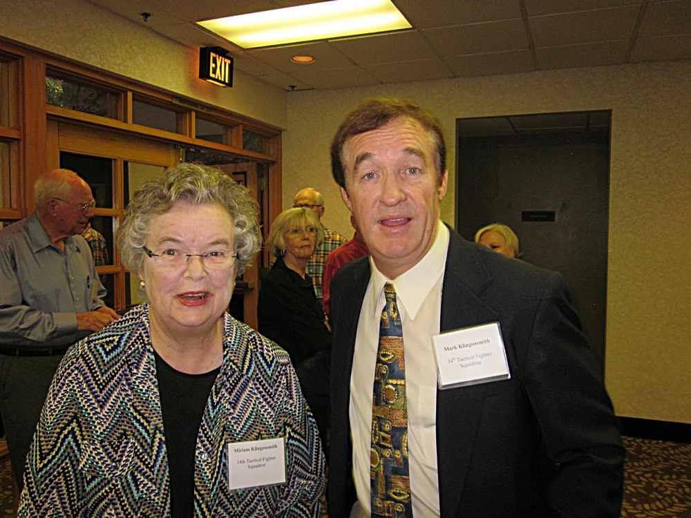 Miriam and Mark Klingensmith.