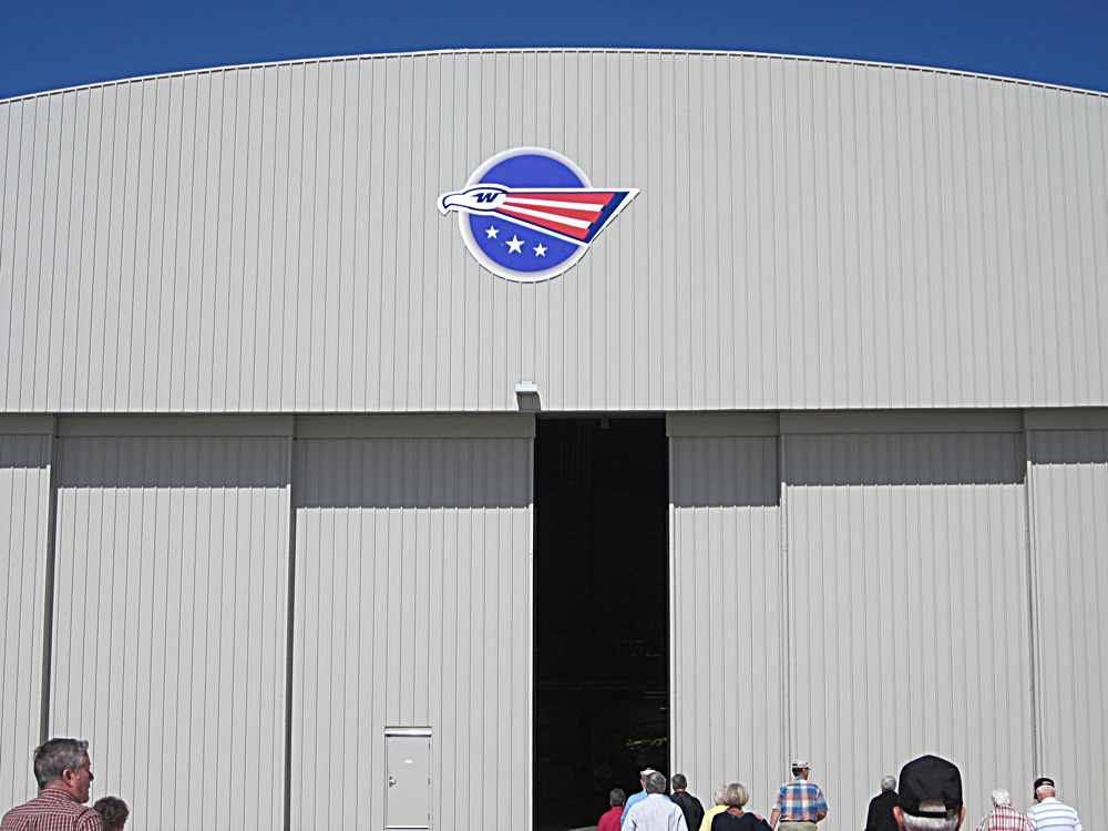 The nice West Pac Restoration hanger.