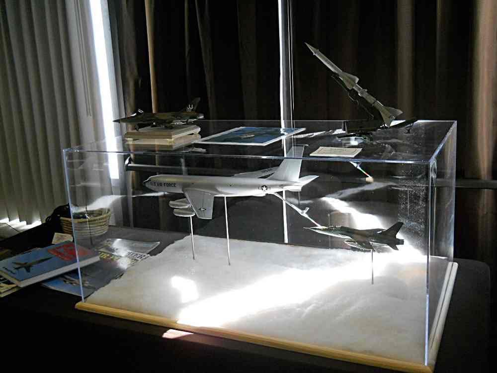 F-105 Refueling Model Display.