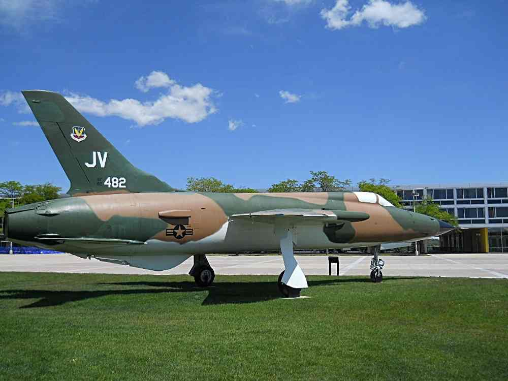 F-105D 60-0482 at the Academy.