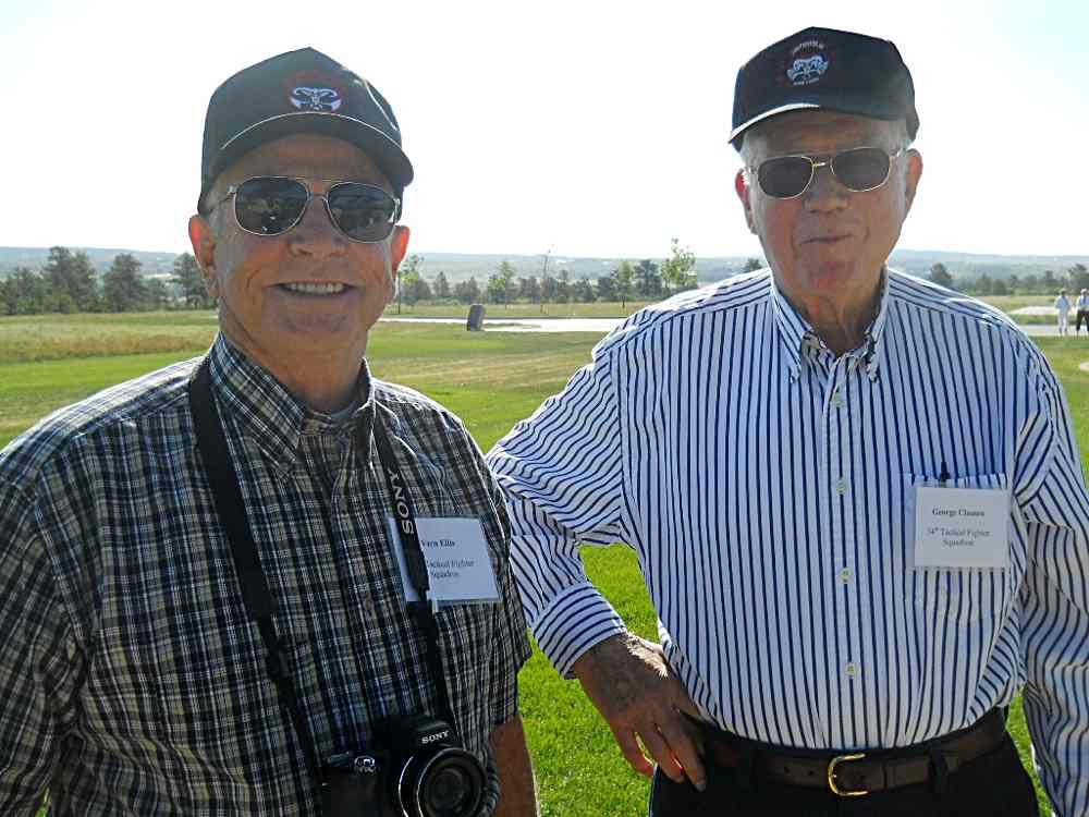 Vern Ellis and George Clausen.