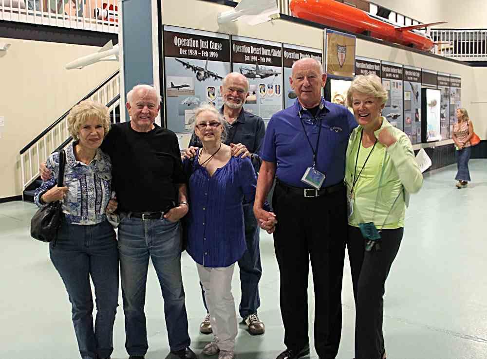 Juetta Wells, Dave Groark, Joyce & Bob Jones, John & Brenda Wambough.