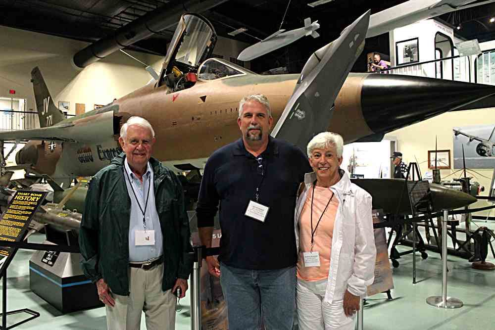 Monty, Jim (Son), & Martha Pharmeer