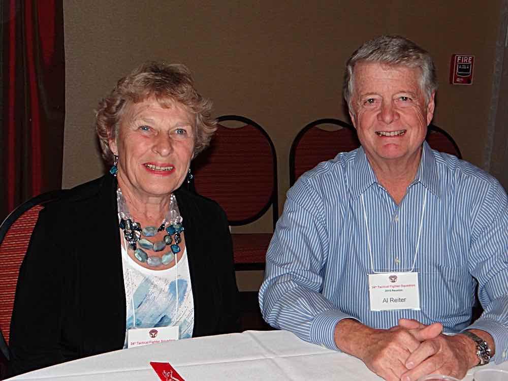 Al & Sue Reiter at the banquet.