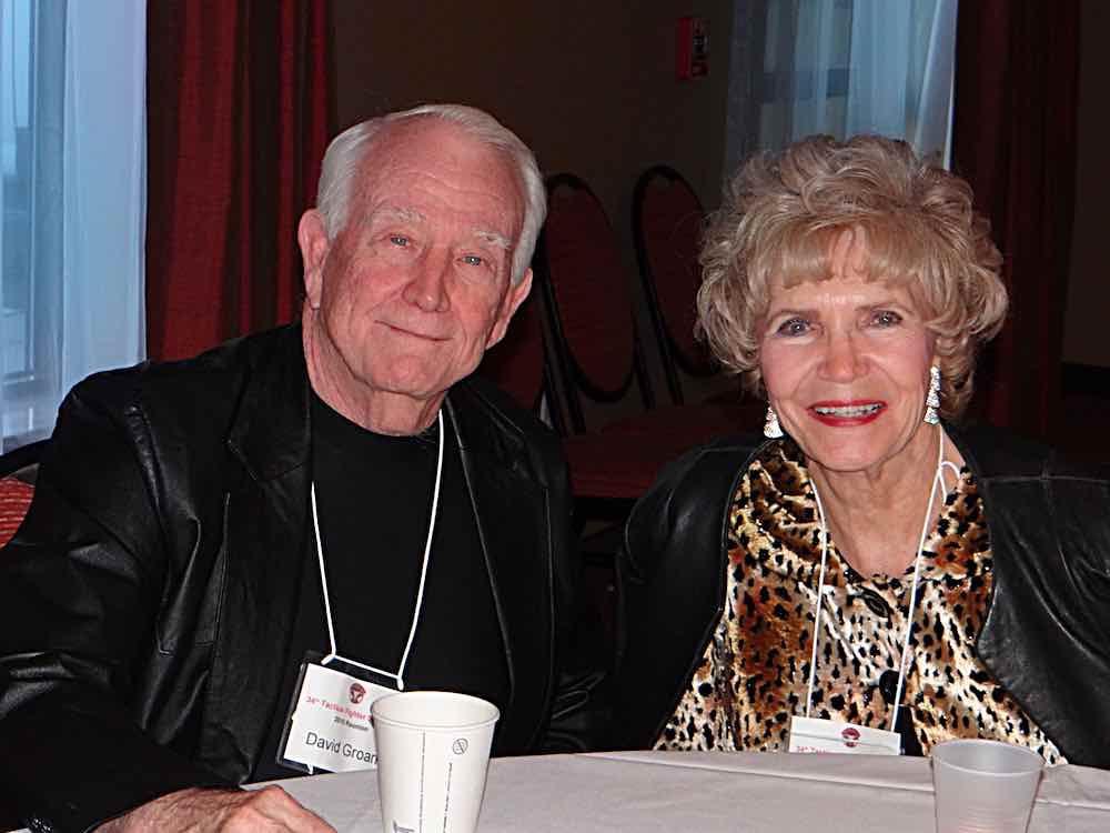David Groark & Juetta Wells.