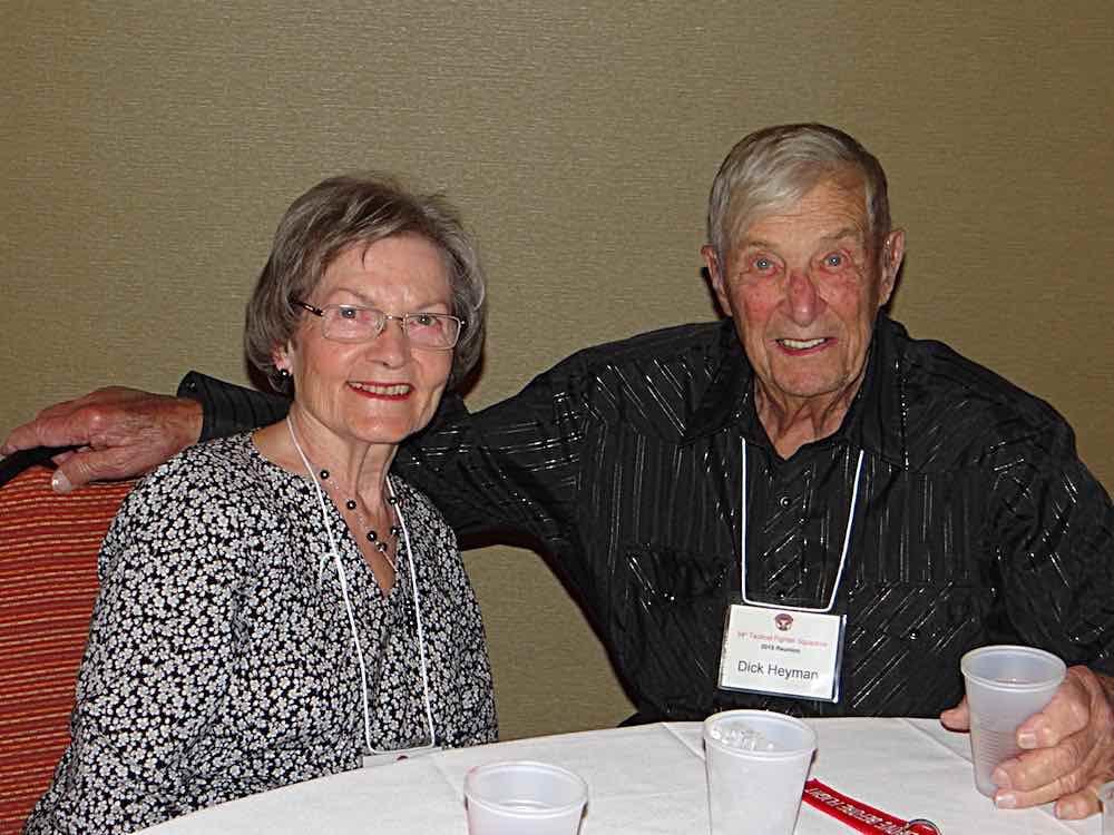 Dick & Barbara Heyman.