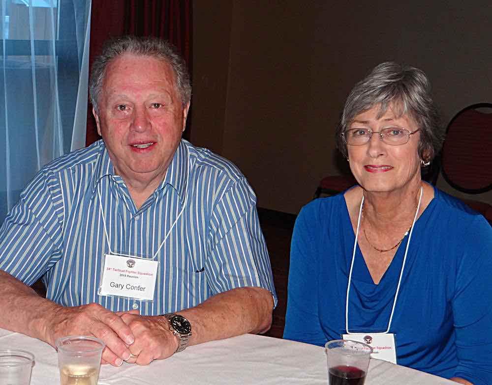 Gary & Jeanie Confer.