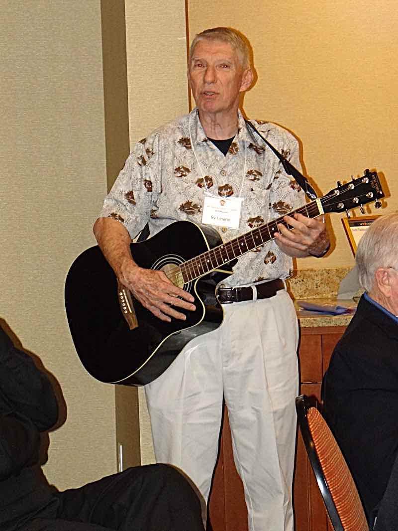 Irv Levine sings.