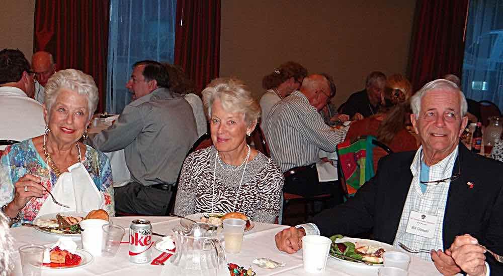 Linda Glasser, Brenda Wambough, Bill Glasser.
