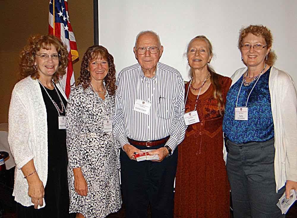 Margaret Head, Nancy Gordon, George Clausen, Gretchen Hammerich, & Kathy de Contreras.