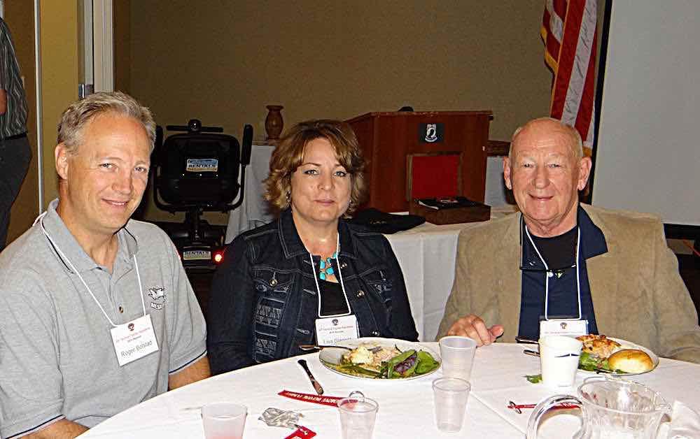 Roger Bolstad, Lisa Glasser, John Wambough.