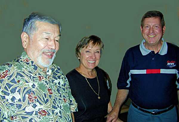 Ray Jauregui, Anne & Gary Catren.
